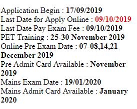 IBPS Clerk Recruitment 2019-20