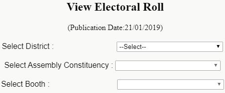 Odisha Voter List with Photo Pdf Download
