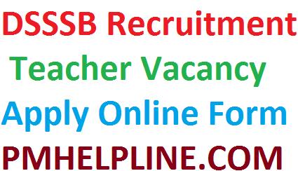 DSSSB Vacancy 2020