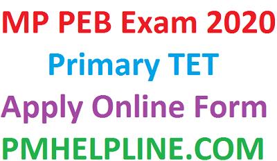 MP Primary School TET 2020