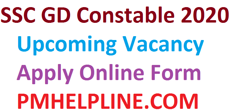 SSC GD Constable 2020